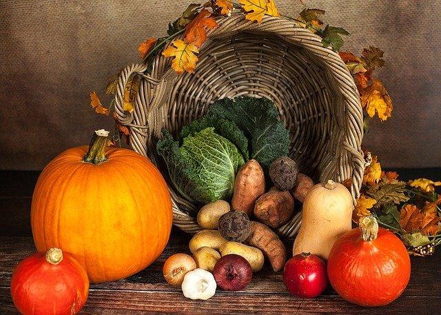 pumpkin and autumn veggies - 2% Of the US Population Identifies As Vegan