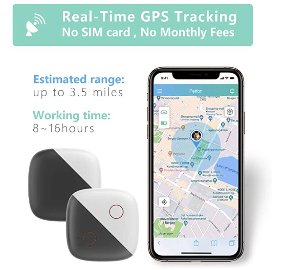 PETFON 1 Dog GPS Pet Tracker